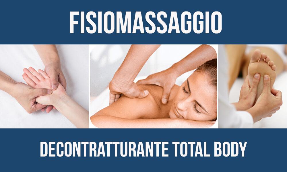 Fisioterapia e massaggi: Fisiomassaggio decontratturante total body Biomedic Clinic & Research