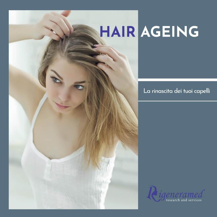 contro l'invecchiamento dei capelli: hair ageing ringiovanimento dei capelli trattamenti di medicina estetica Biomedic Clinic & Research